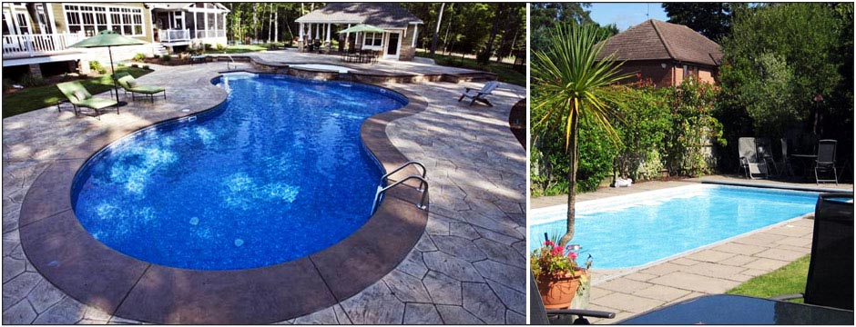 Vinyl Liner Swimming Pool Kits